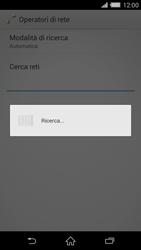 Sony Xperia Z2 - Rete - Selezione manuale della rete - Fase 7