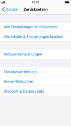 Apple iPhone SE - iOS 14 - Gerät - Zurücksetzen auf die Werkseinstellungen - Schritt 5