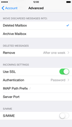Apple iPhone 6 Plus - E-mail - Manual configuration IMAP without SMTP verification - Step 25