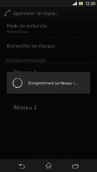 Sony Xperia Z - Réseau - Sélection manuelle du réseau - Étape 10