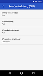 Motorola Moto G5s - Anrufe - Rufumleitungen setzen und löschen - Schritt 9