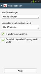 Samsung Galaxy S 4 LTE - E-Mail - Manuelle Konfiguration - Schritt 16