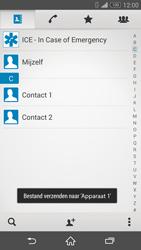 Sony D5803 Xperia Z3 Compact - Contactgegevens overzetten - delen via Bluetooth - Stap 12