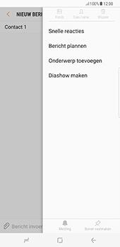 Samsung Galaxy S8 Plus - MMS - hoe te versturen - Stap 8
