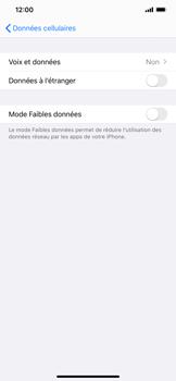 Apple iPhone XS Max - iOS 13 - Réseau - Comment activer une connexion au réseau 4G - Étape 5
