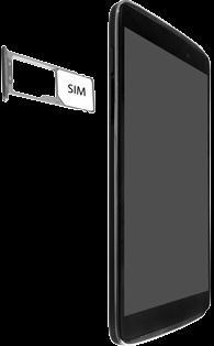 "Alcatel Idol 3 - 4.7"" - SIM-Karte - Einlegen - 0 / 0"