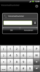 HTC X515m EVO 3D - Voicemail - Handmatig instellen - Stap 7
