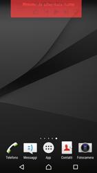 Sony Xperia Z5 - Operazioni iniziali - Installazione di widget e applicazioni nella schermata iniziale - Fase 8