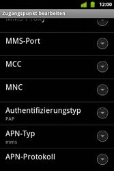 Alcatel OT-983 - MMS - Manuelle Konfiguration - Schritt 13