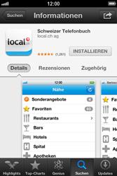 Apple iPhone 3GS - Apps - Installieren von Apps - Schritt 7