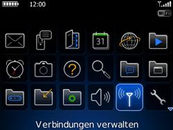 BlackBerry Curve - WLAN - Manuelle Konfiguration - 3 / 13
