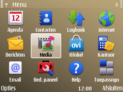 Nokia E72 - contacten, foto