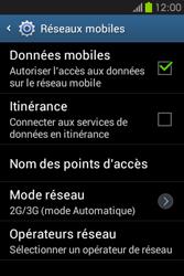 Samsung S6810P Galaxy Fame - MMS - Configuration manuelle - Étape 6