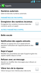 LG D505 Optimus F6 - Messagerie vocale - Configuration manuelle - Étape 5