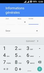 Alcatel U3 - Applications - Créer un compte - Étape 8