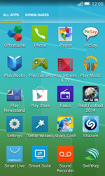 Alcatel Pop S3 (OT-5050X) - Voicemail - Manual configuration - Step 3