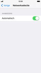 Apple iPhone SE - iOS 11 - Netwerk selecteren - Handmatig een netwerk selecteren - Stap 5