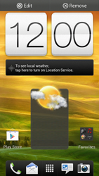 HTC One S - Getting started - Installing widgets and applications on your start screen - Step 8