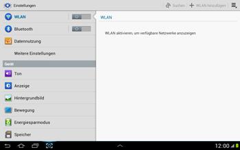 Samsung Galaxy Note 10-1 - Ausland - Auslandskosten vermeiden - 6 / 8