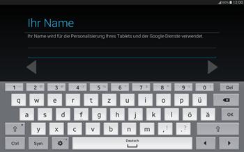 Samsung T805 Galaxy Tab S - Apps - Einrichten des App Stores - Schritt 7