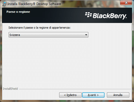 BlackBerry Q10 - Software - Installazione del software di sincronizzazione PC - Fase 6