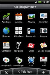 HTC A6262 Hero - Voicemail - Handmatig instellen - Stap 3