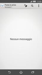 Sony Xperia Z2 - E-mail - configurazione manuale - Fase 4