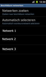 Samsung I9100 Galaxy S II - Netwerk - Handmatig netwerk selecteren - Stap 11