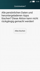 Huawei Y5 - Fehlerbehebung - Handy zurücksetzen - 9 / 10