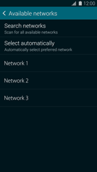 Samsung Galaxy S 5 - Network - Manual network selection - Step 9