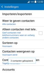 Samsung Galaxy Xcover 3 (SM-G388F) - Contacten en data - Contacten kopiëren van toestel naar SIM - Stap 12