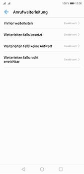 Huawei P20 Pro - Anrufe - Rufumleitungen setzen und löschen - 6 / 9