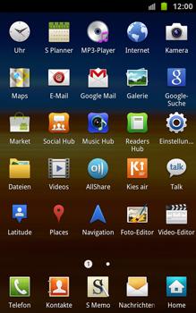 Samsung Galaxy Note - Apps - Konto anlegen und einrichten - 3 / 18