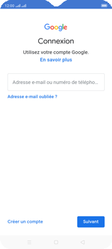 Oppo A9 2020 - Applications - Créer un compte - Étape 5