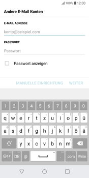 LG G6 - Android Oreo - E-Mail - Konto einrichten (outlook) - Schritt 7
