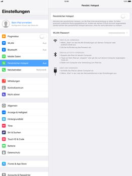 Apple iPad Pro 12.9 inch - Internet - Mobilen WLAN-Hotspot einrichten - 7 / 9