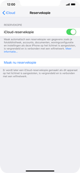 Apple iPhone XR - Data - maak een back-up met je account - Stap 12