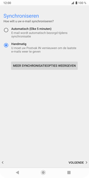 Sony Xperia XZ3 - E-mail - Handmatig instellen (yahoo) - Stap 10