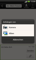 HTC Desire X - MMS - Erstellen und senden - 12 / 18