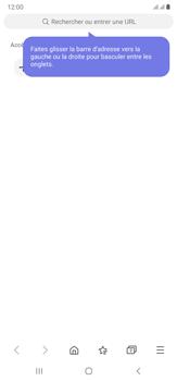 Samsung Galaxy Note20 Ultra 5G - Internet et connexion - Naviguer sur internet - Étape 17