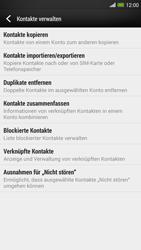 HTC One Max - Anrufe - Anrufe blockieren - Schritt 6