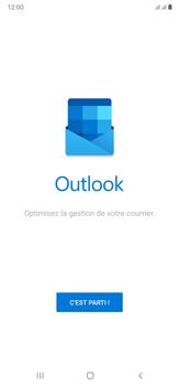 Samsung Galaxy Note20 Ultra 5G - E-mails - Ajouter ou modifier votre compte Outlook - Étape 5