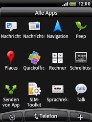 HTC Wildfire - SMS - Manuelle Konfiguration - 1 / 1