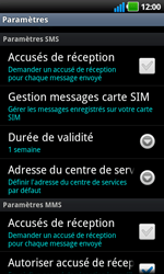 LG P970 Optimus Black - SMS - configuration manuelle - Étape 4