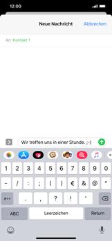 Apple iPhone XS Max - iOS 13 - MMS - Erstellen und senden - Schritt 12