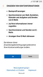 Samsung Galaxy J3 (2017) - E-Mail - 032c. Email wizard - Outlook - Schritt 9