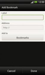 HTC T320e One V - Internet - Internet browsing - Step 9