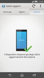 Sony Xperia Z2 - Software - Installazione degli aggiornamenti software - Fase 8