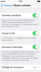 Apple iPhone 5c - Internet - activation du roaming de données - Étape 5