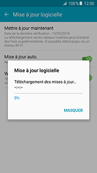 Samsung Galaxy A8 - Logiciels - Installation de mises à jour - Étape 9